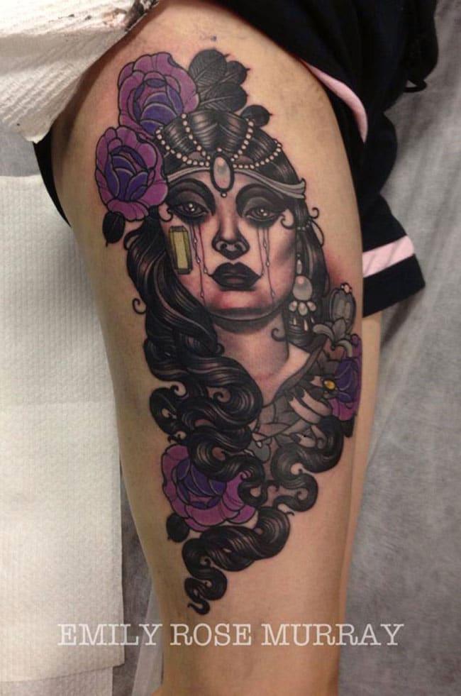 Les tatouages de Emily rose Murray  (6)