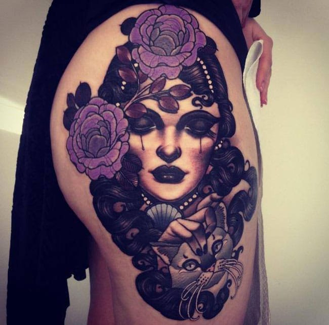 Les tatouages de Emily rose Murray  (8)