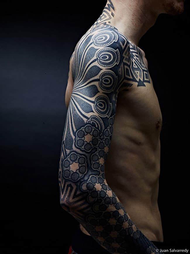 Les tatouages dotwork de Nazareno Tubaro  (6)