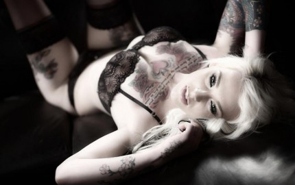 Lady Lauren tattoo tatouage fille (5)