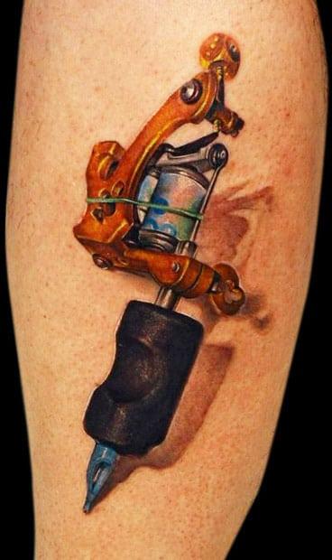 tatouage machine a tatouer dermographe 19 inkage. Black Bedroom Furniture Sets. Home Design Ideas