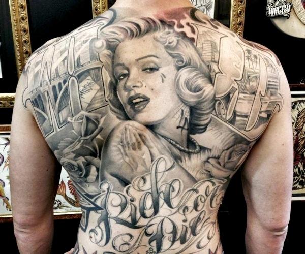 Un tatouage de Antonio Macko