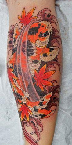 tatouage carpe koi 8 inkage. Black Bedroom Furniture Sets. Home Design Ideas