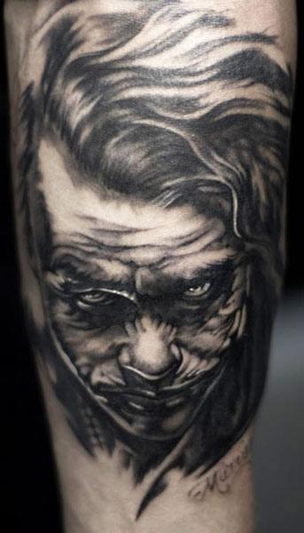 Tatouage Le Joker Batman 16 Inkage