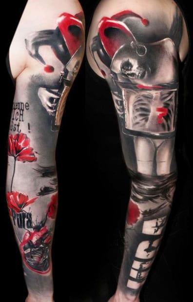 Tatouage Le Joker Batman 19 Inkage