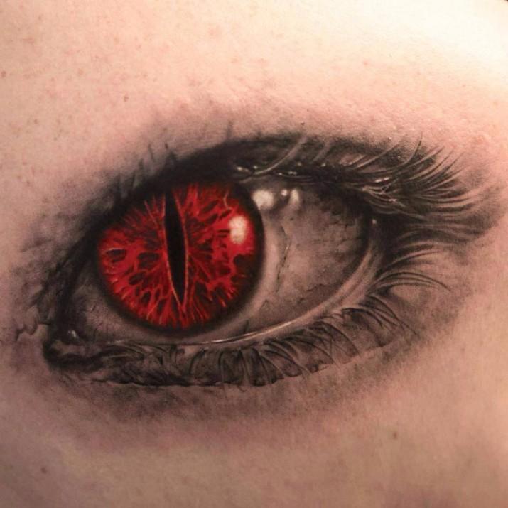Un tatouage d oeil 24 inkage - Wicked 3d tattoos ...