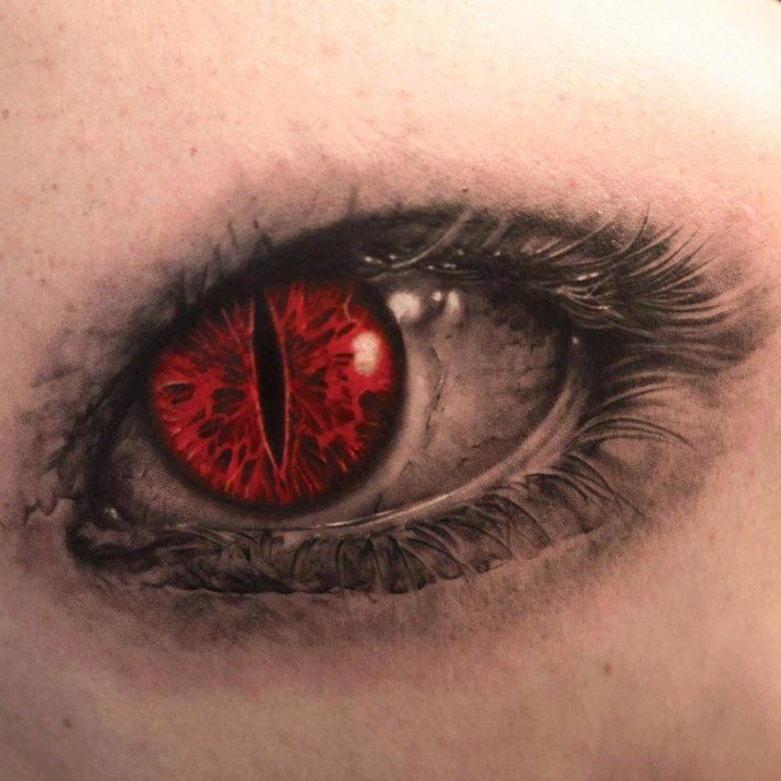 Un tatouage d oeil 24 inkage for Tattoo of evil eye