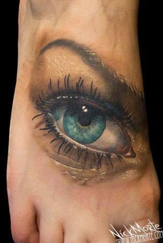 Un tatouage doeil 30 Inkage