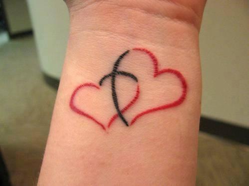 Un Tatouage De Coeur 7 Inkage