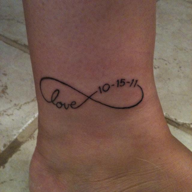 Tatouage tattoo symbole infini quotes - Symbole tatouage couple ...