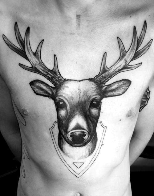 Animaux d enfant en tatouage 39 inkage - Tatouage cerf signification ...