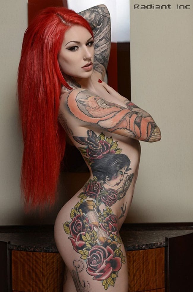 cervean-fox-femme-tattoo-tatouage-sexy-photo-modele--(8)
