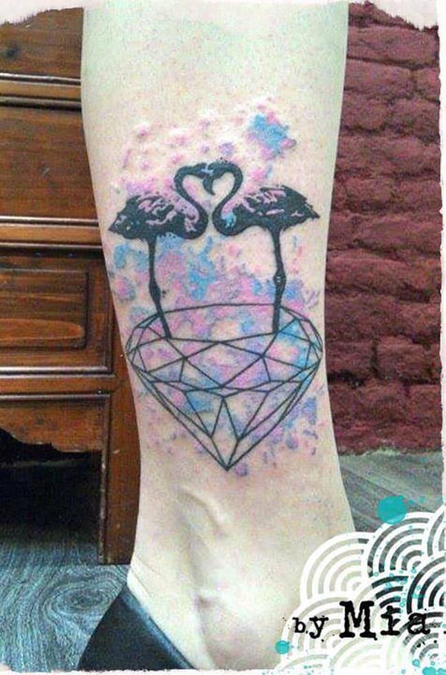 Un tattoo réalisé par Mia