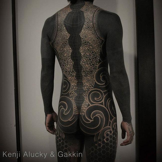 Les tatouages noirs de Gakkin (1)