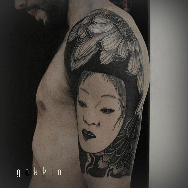 Les tatouages-noirs-de-Gakkin- (1)