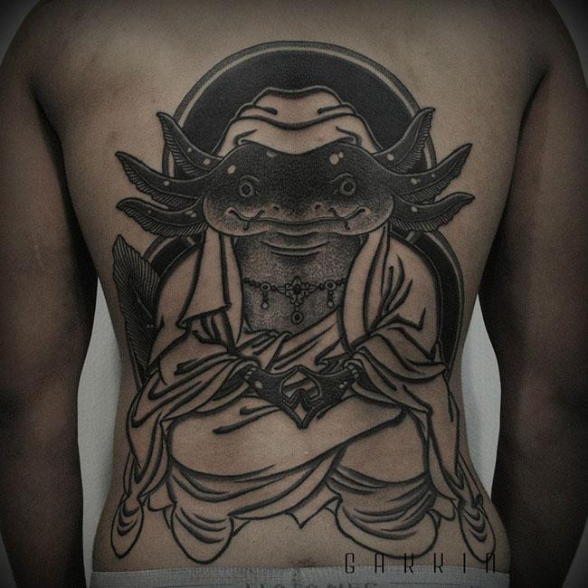 Les tatouages noirs de Gakkin (4)