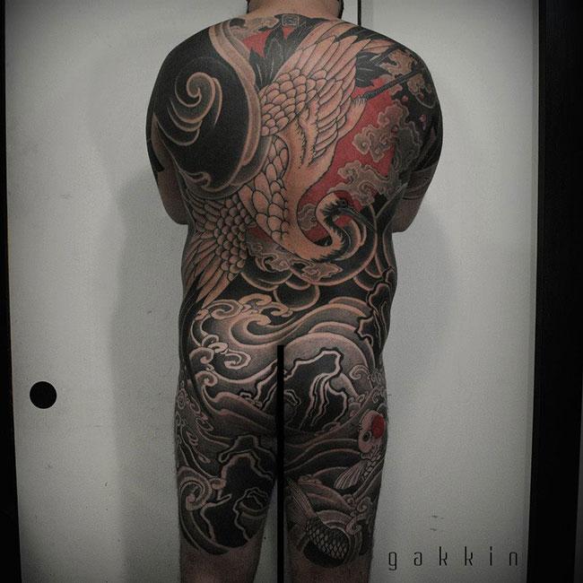 Les tatouages noirs de Gakkin (5)