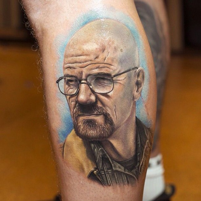 Selection De 16 Tatouages Sur Breaking Bad Inkage