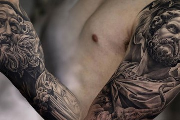tatouage-statue-jun-cha