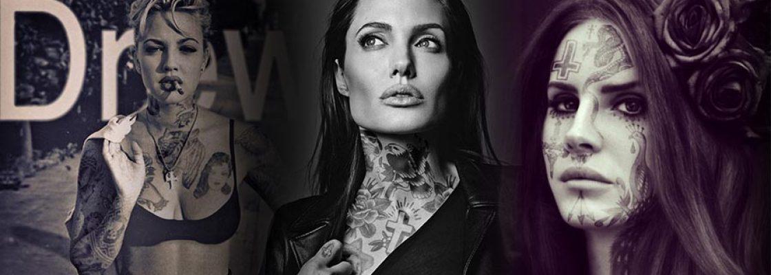 Les plus grandes stars tatouees avec photoshop partie 2